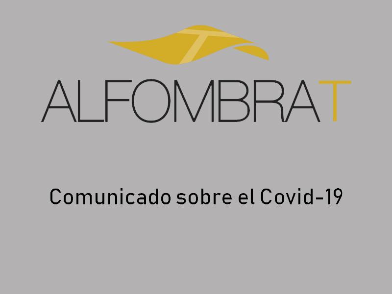 Mensaje de Alfombra-T respecto al Covid-19